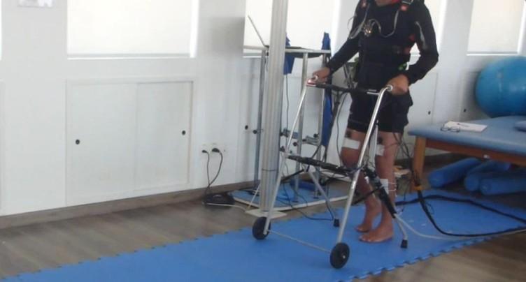 Nouvelle méthode de rééducation non invasive pour paraplégiques