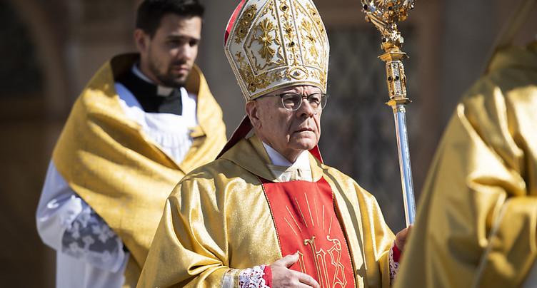 Vitus Huonder n'est plus l'évêque de Coire