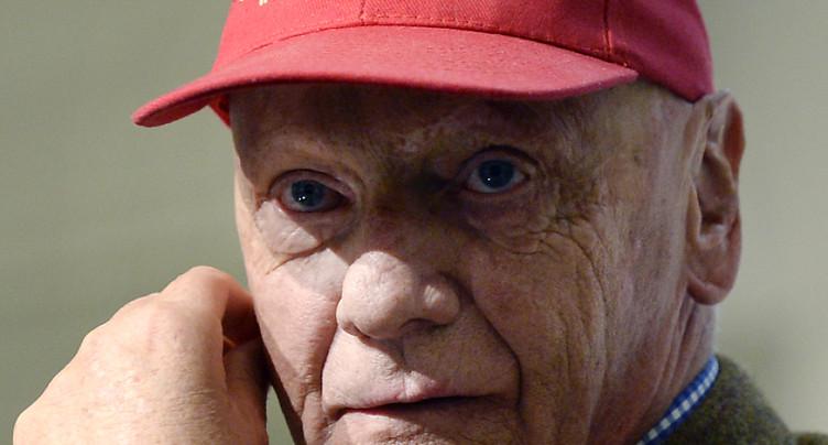 La légende de Formule 1 Niki Lauda n'est plus