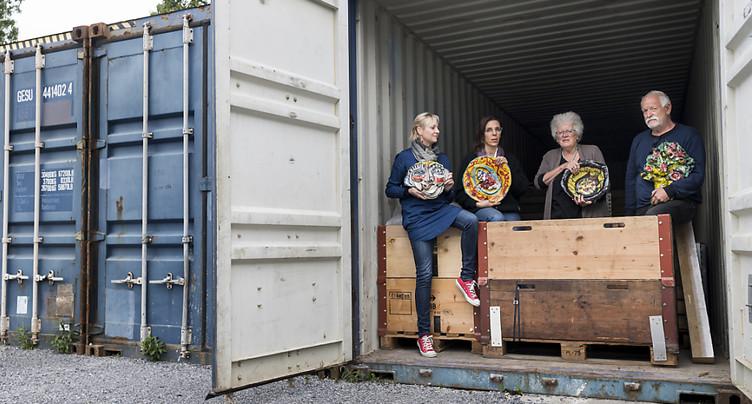 Renens souhaite installer une oeuvre d'art brut de 36 tonnes