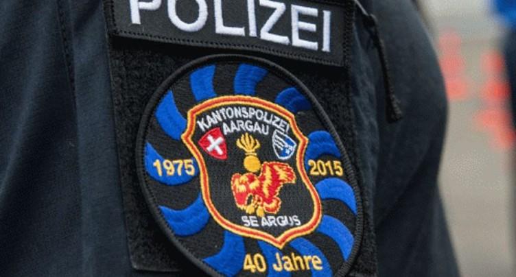 Policier argovien condamné pour lésion corporelle par négligence