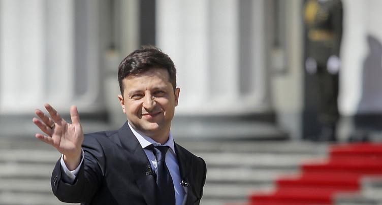 Zelensky convoque des législatives anticipées le 21 juillet