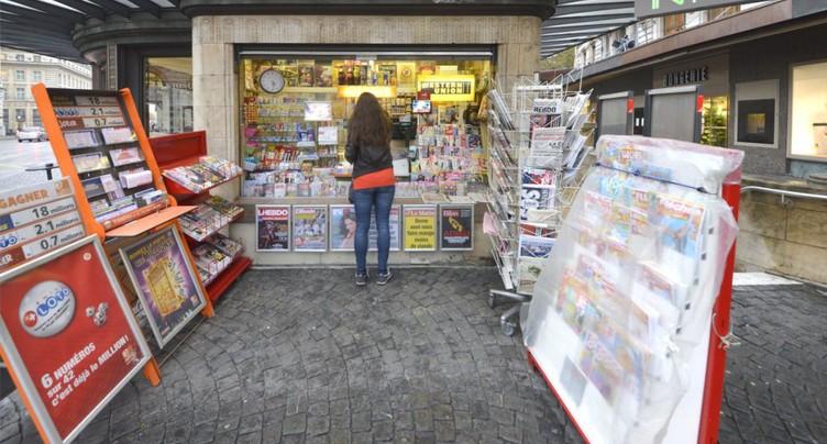 Les magazines sont  57% plus chers en Suisse