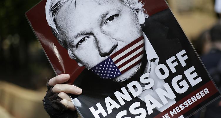 Le fondateur de Wikileaks Julian Assange inculpé aux Etats-Unis