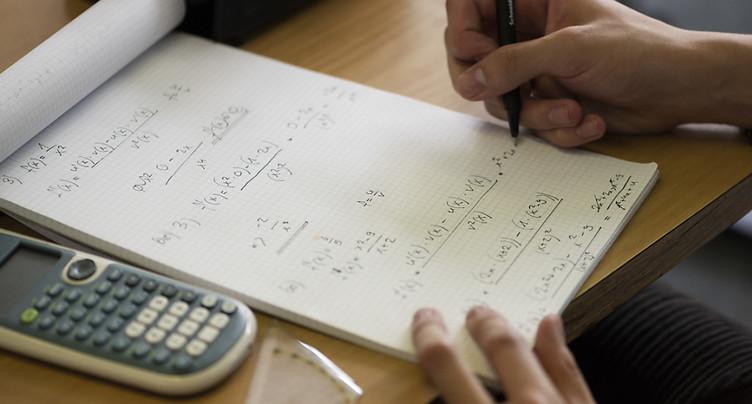 Les petits Suisses peuvent encore s'améliorer en maths