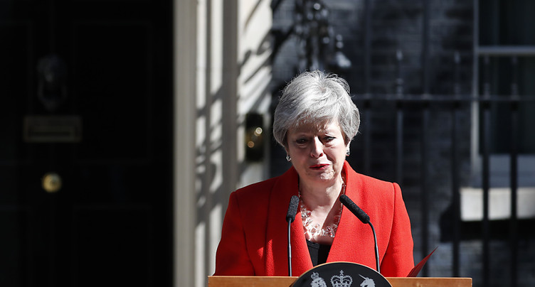 Theresa May annonce sa démission