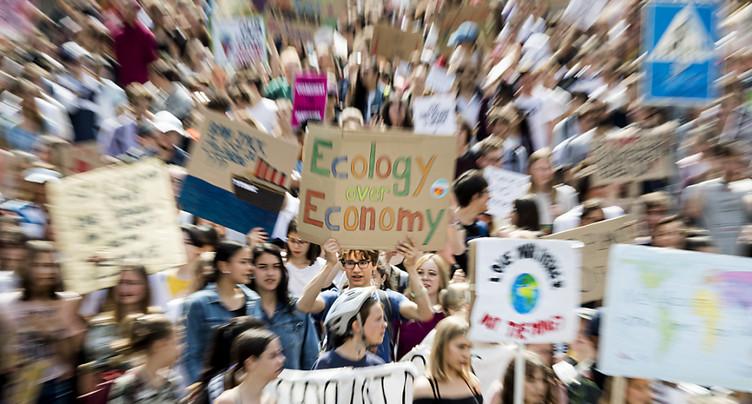 Mobilisation en baisse à Lausanne et Genève pour le climat