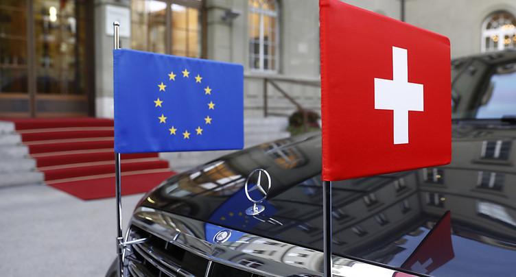 Plus de 40% des Suisses veulent que Berne renégocie avec l'UE