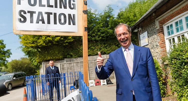 Près d'un Britannique sur trois aurait choisi le Brexit Party