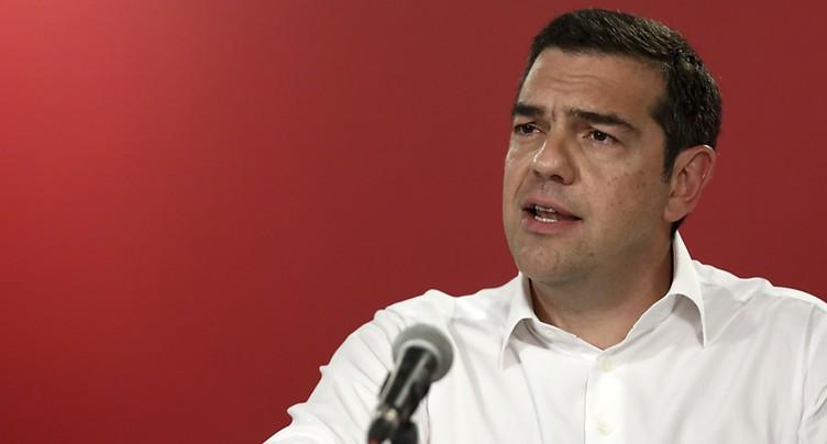 Sanctionné, Alexis Tsipras appelle à des législatives anticipées
