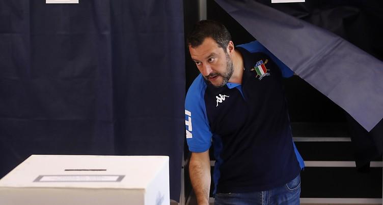 La Ligue de Salvini nettement en tête en Italie