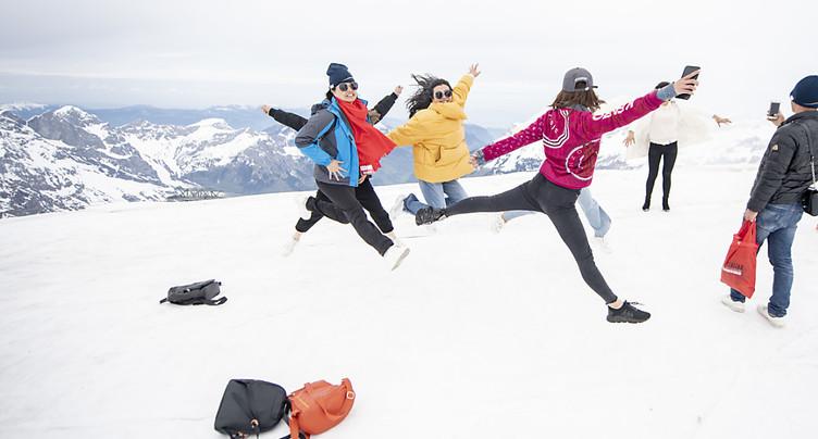 Le tourisme helvétique dynamique après une saison d'hiver réussie