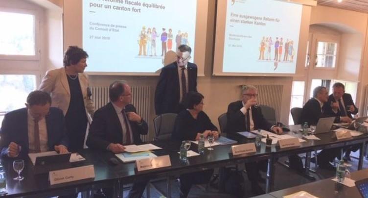 Fribourg: Conseil d'Etat mobilisé pour la réforme fiscale
