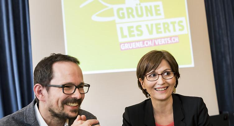 Les Verts comme « antidote » à la montée du populisme