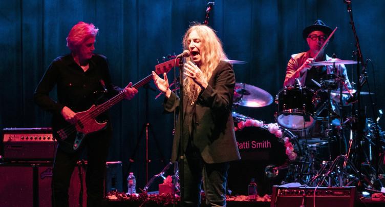 Début de Festi'neuch avec la rockeuse Patti Smith