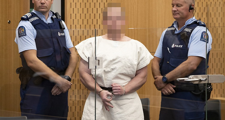 L'auteur présumé des attaques de Christchurch plaide non coupable