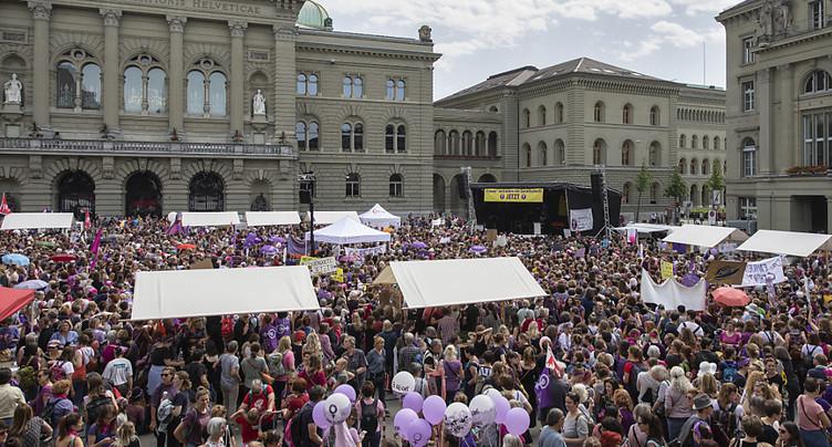 Les Suissesses se sont mobilisées partout dans le pays