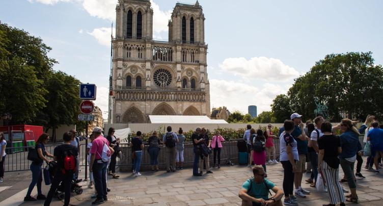 Début de la première messe à Notre-Dame depuis l'incendie