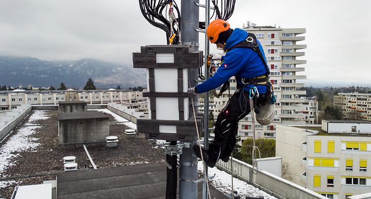Swisscom a déjà installé plus de 100 antennes 5G