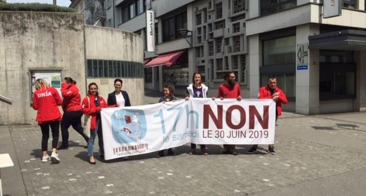 Heure de fermeture des magasins le samedi en votation à Fribourg
