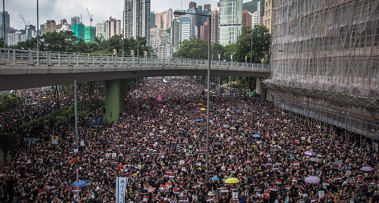 Nouvelle manifestation montre attendue à Hong Kong