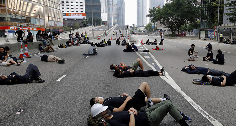 Fin du blocage de la dernière autoroute occupée à Hong Kong