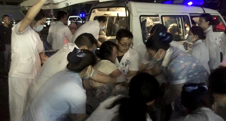 Séisme au Sichuan en Chine: au moins 12 morts et 134 blessés