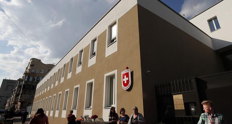 Inauguration de la nouvelle ambassade de Suisse à Moscou