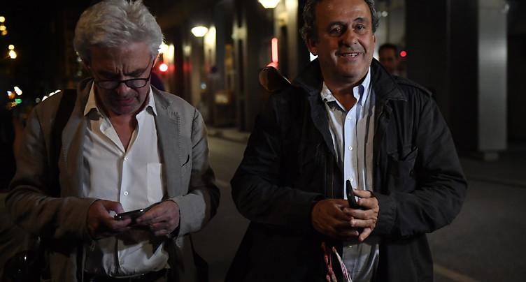 Coupe du monde 2022: Michel Platini ressort libre de garde à vue