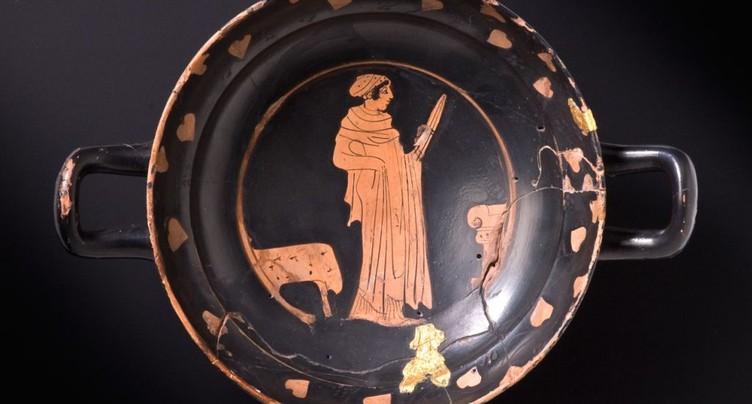 Les Celtes buvaient du vin importé dans de la vaisselle grecque