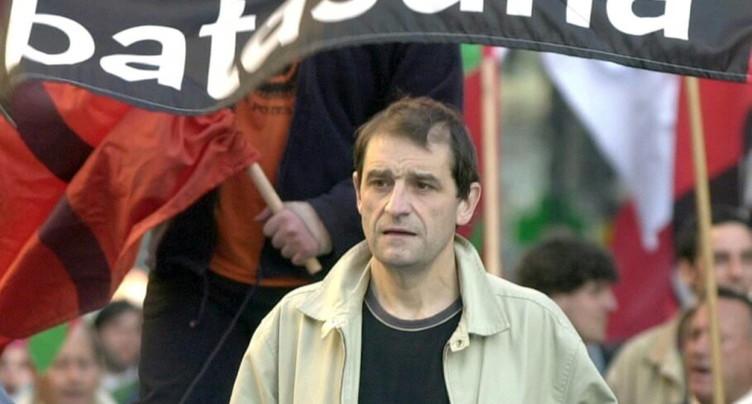 La justice remet en liberté l'ancien leader de l'ETA Josu Ternera