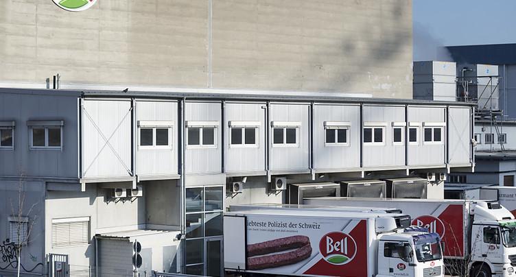 Employés de Bell à Bâle hospitalisés après une fuite d'ammoniac