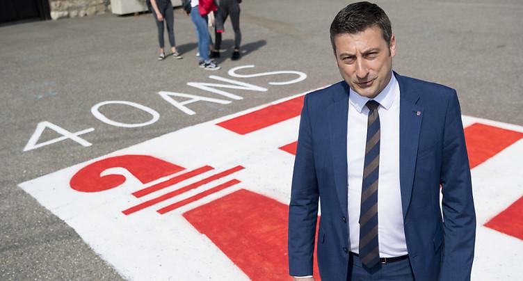 Message de reconnaissance du Jura aux cantons suisses