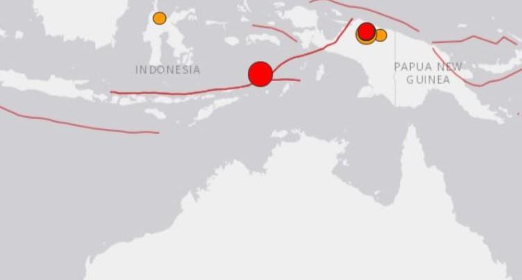 Un séisme de magnitude 7,3 secoue l'est de l'Indonésie