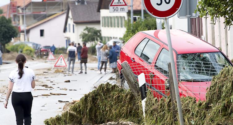 Val-de-Ruz: un mort et des dégâts jusqu'à 10 millions de francs