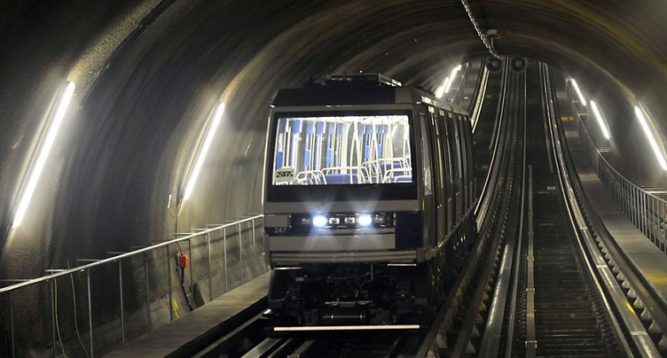 EPFL: un tunnel de métro source d'énergie géothermique