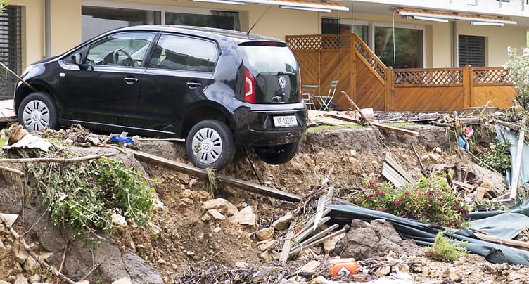 La vie reprend son cours après les inondations dans le Val-de-Ruz
