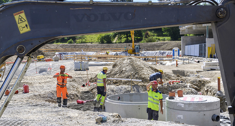 Vaud: mesures exceptionnelles sur certains chantiers