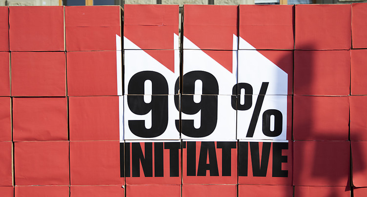 Le gouvernement rejette l'initiative pour taxer 1% des plus riches