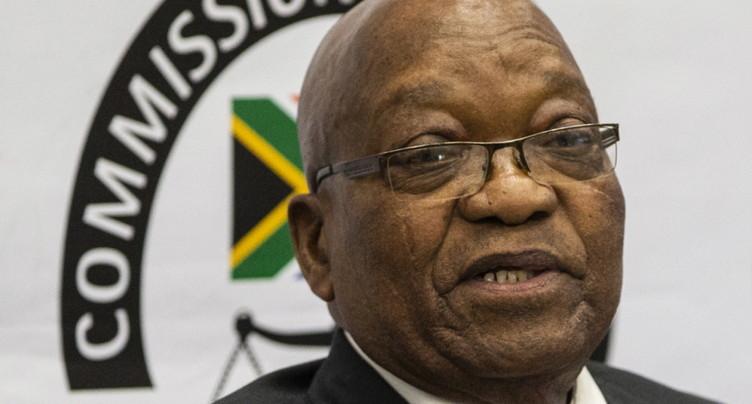 Zuma se défend d'être corrompu et crie à la machination