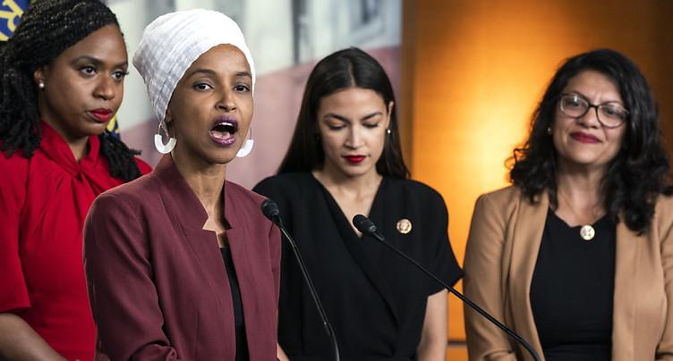 Les quatre élues démocrates répondent aux attaques de Donald Trump