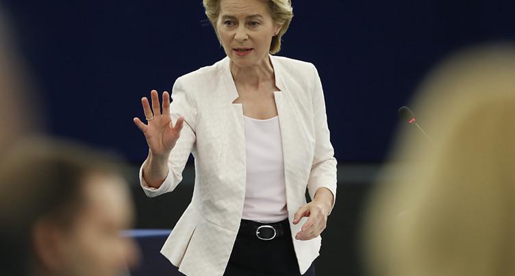 Ursula von der Leyen promet un « green deal » européen