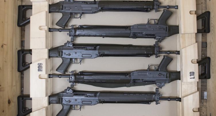 La Suisse a exporté davantage de matériel de guerre au 1er semestre