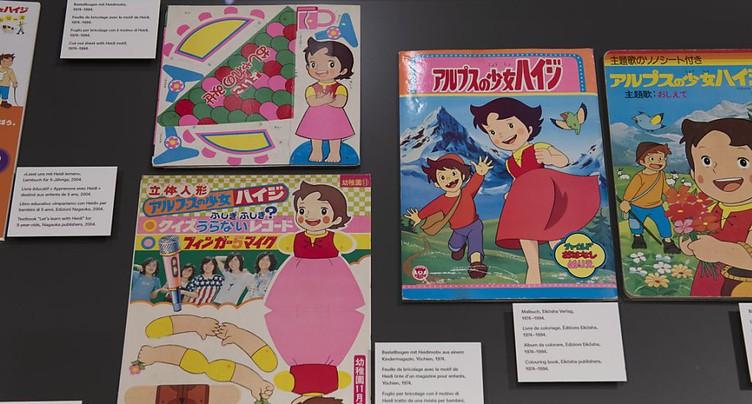Le dessin animé Heidi, trait d'union entre le Japon et la Suisse