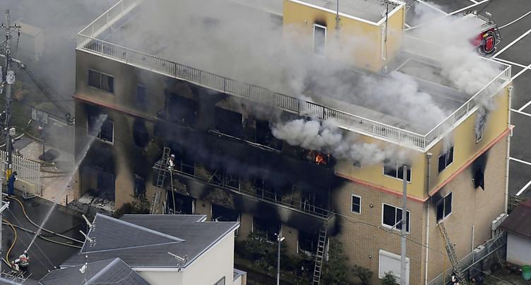 Incendie d'un studio d'animation au Japon: 13 morts
