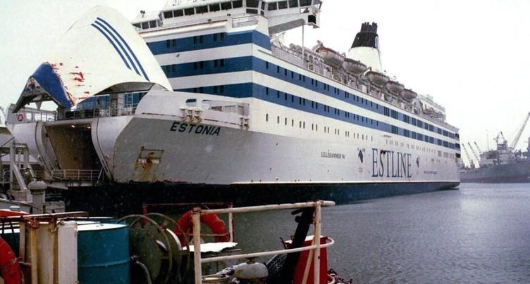 Naufrage de l'Estonia en 1994: rejet des demandes d'indemnisation