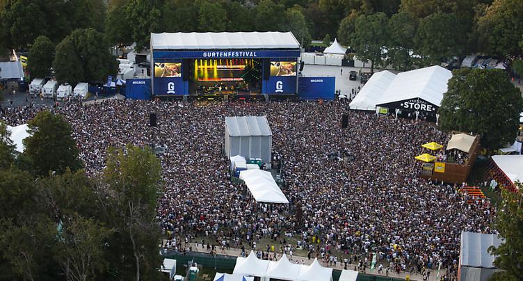 Festival du Gurten: 76'000 spectateurs en quatre jours