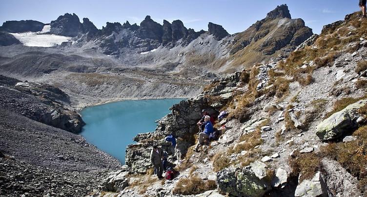 Les petits glaciers de Suisse orientale disparaissent