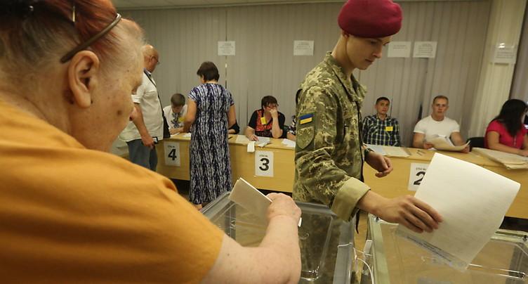 Législatives en Ukraine: le parti de Zelensky donné grand favori