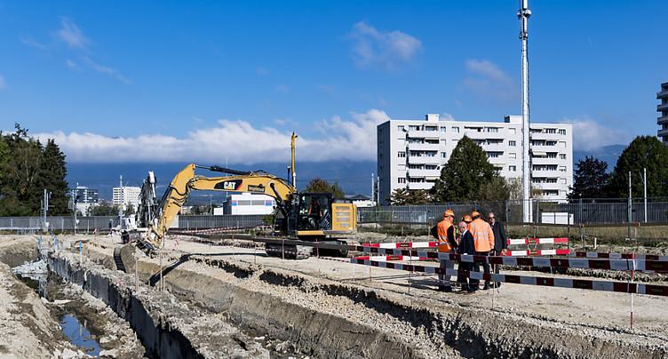 Nette hausse des dépenses de construction en Suisse en 2018